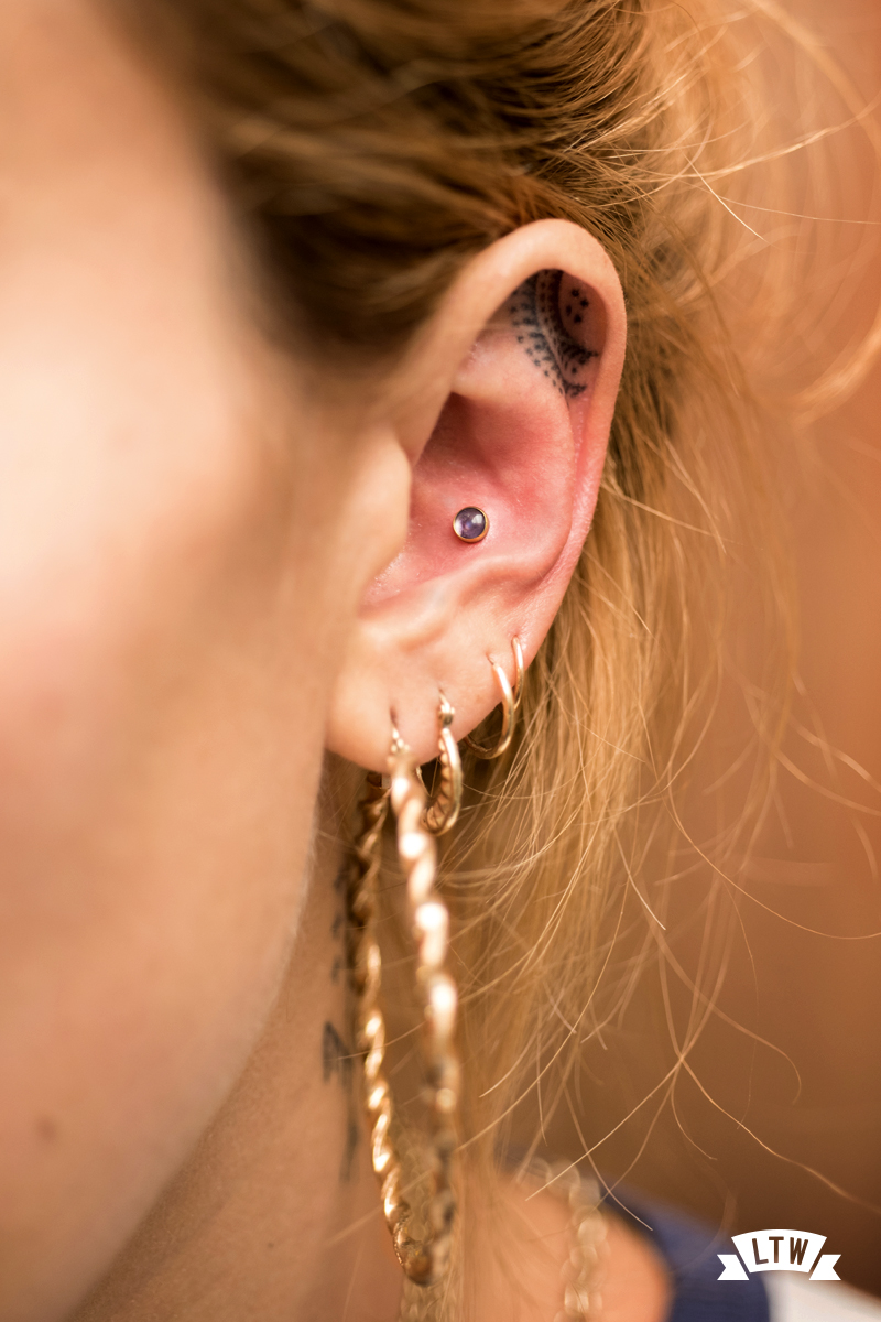 Conch done by Sergi Tinaut